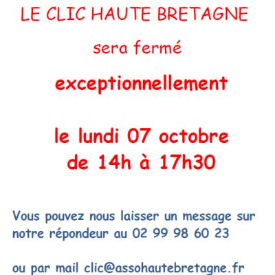 Fermeture 071019